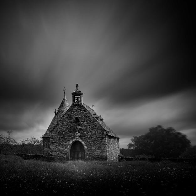 Chapelle du château de Rochefort, Rochefort en Terre, Bretagne. France 2014