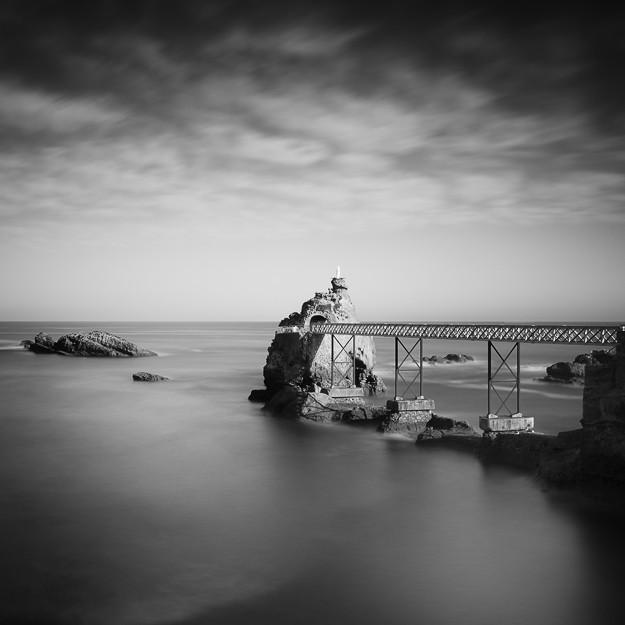 Rocher de la Vierge, Biarritz. France 2013