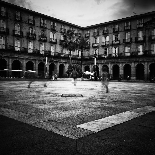 plaza barria, Bilbao. Basque Country 2013