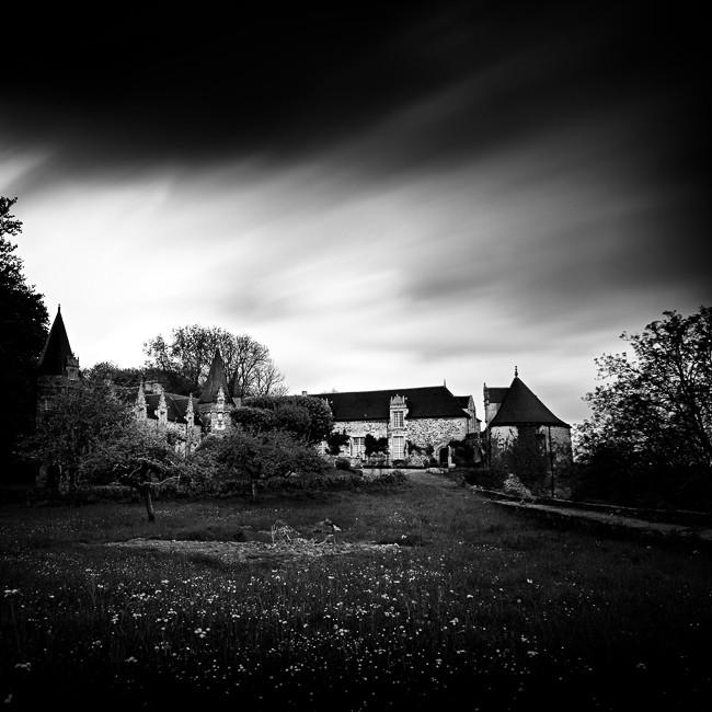Chateau Rochefort en Terre, Bretagne. France 2014