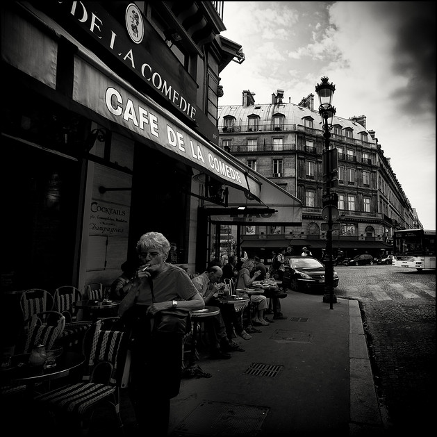 cafe de la comedie, Paris 2010
