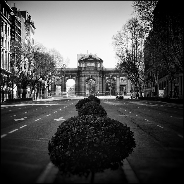 Puerta de Alcalá, Madrid 2011