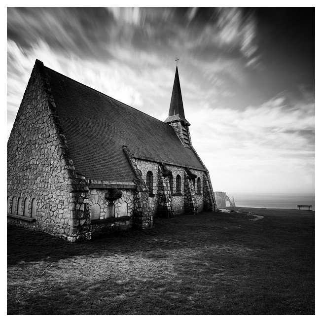 Chapel of Notre Dame de la Garde / Étretat #03, Normandy. France 2012