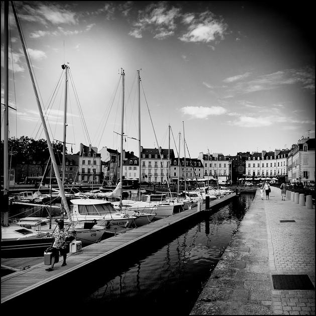 Port de Vannes.