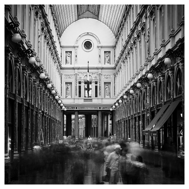 Galeries Royales Saint-Hubert. Brüssel, Belgium 2011