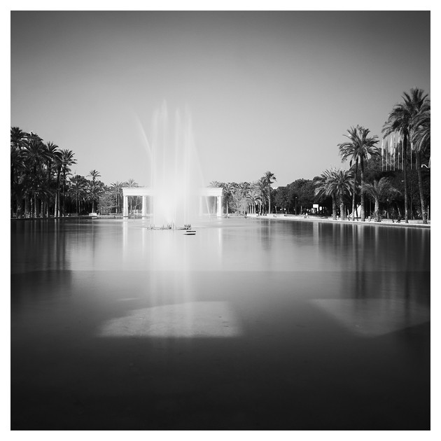 Fountain in the Turia Garden, Valencia 2012
