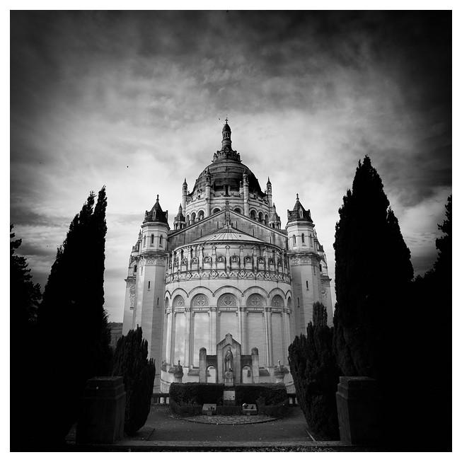 Basilica of St. Thérèse, Lisieux. France 2012