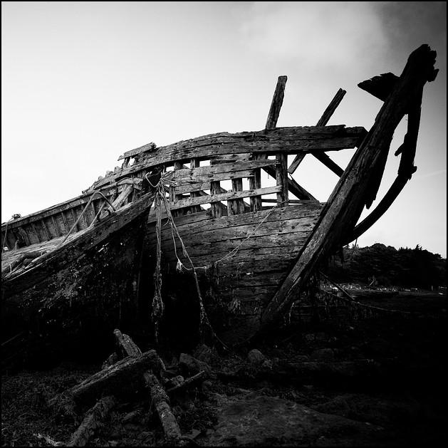 Ship graveyard II, Audierne, Bretagne 2010