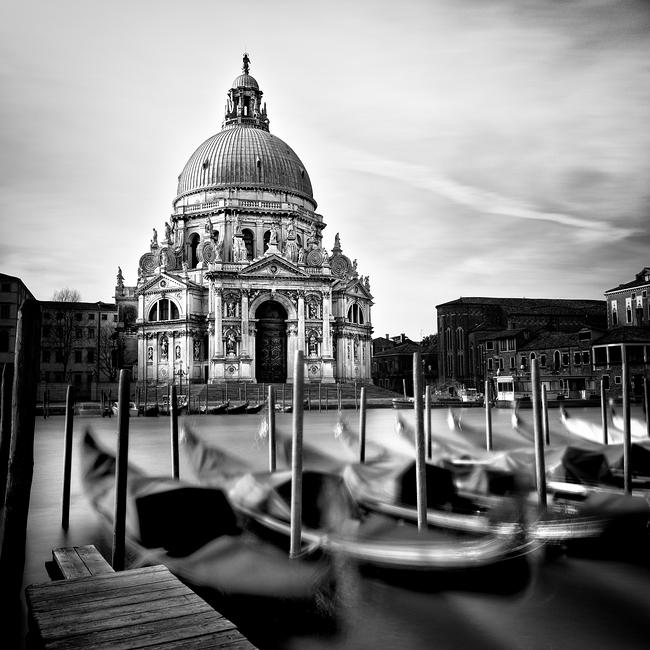 Basilica di Santa Maria della Salute, Venice. Italy 2016