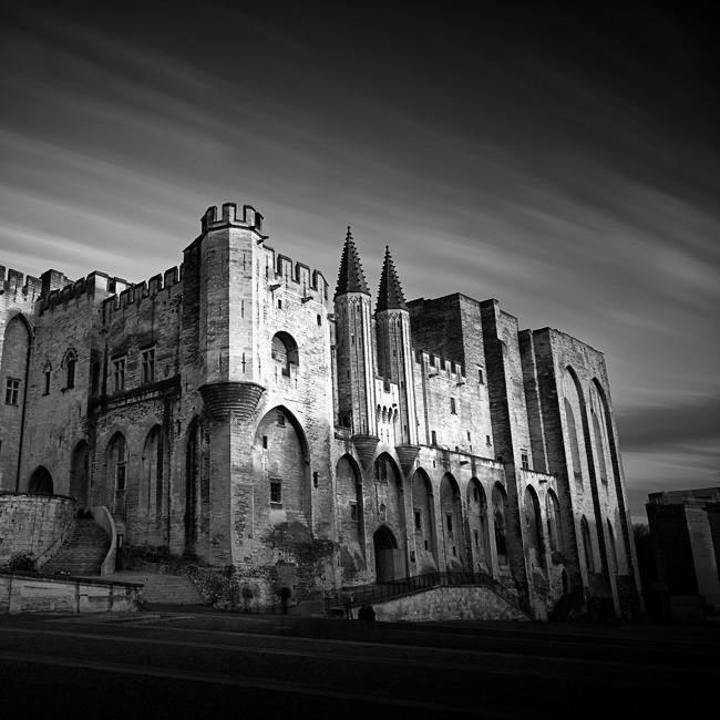 Palais des Papes, Avignon. Provence-Alpes-Côte d'Azur. France 2015