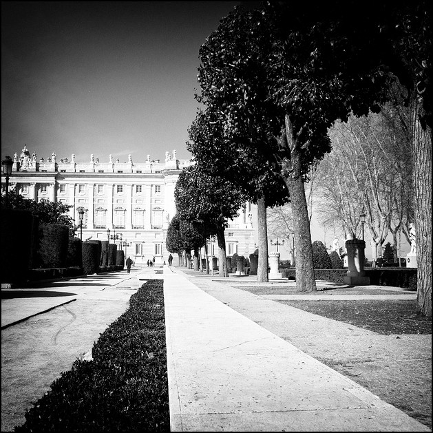 Plaza de Oriente, Madrid 2011