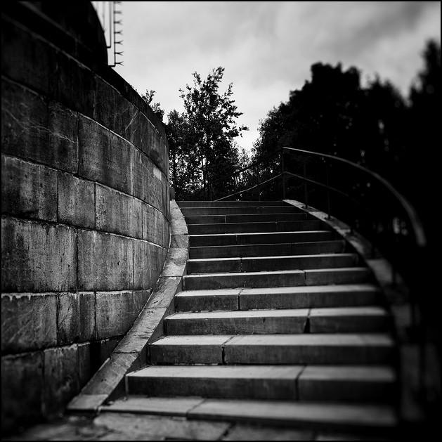 Stufen zum Hermannsdenkmal
