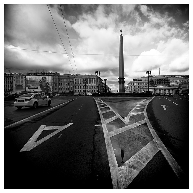 Ploshchad' Vosstaniya, Sankt Petersburg 2012