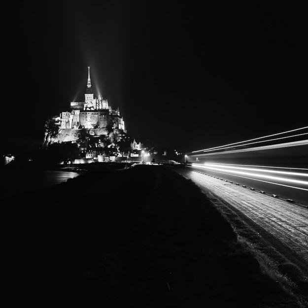 Mont Saint Michel study #01, Normandy 2013