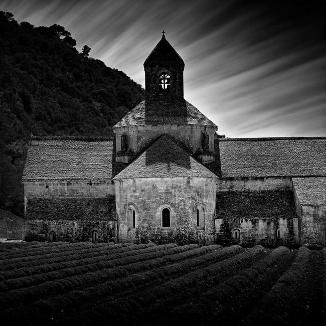 Abbaye de Sénanque, Provence-Alpes-Côte d'Azur. France 2015