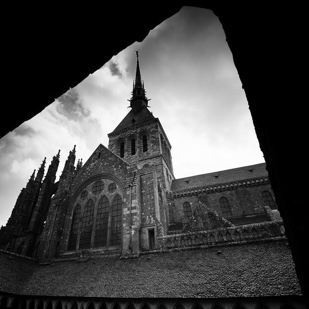 Mont Saint Michel study #04, Normandy 2013