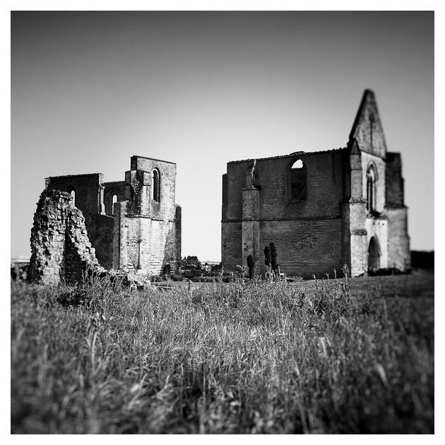 Abbaye des Châteliers. La Flotte, Ile de Re, France 2011