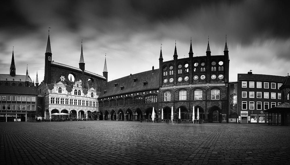 Marktplatz Lübeck, Schleswig-Holstein, Germany 2017