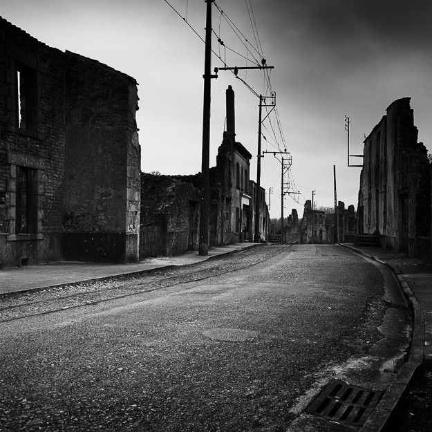 Village Martyr #01, Oradour-sur-Glane. France 2013