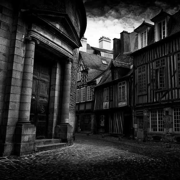 Rennes, Vieille Ville. France 2014