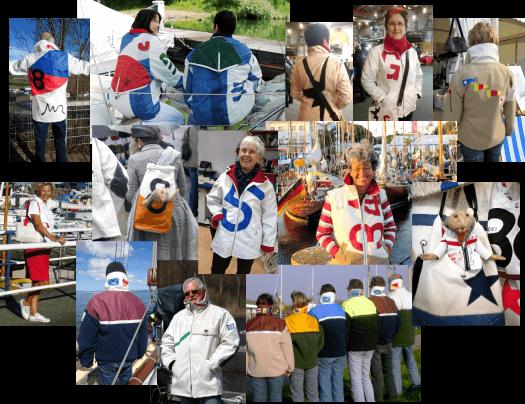 sailart fashion segeltuchjacke segeltuchtasche jacken taschen unikate reisetasche beuteltasche umhängetasche strandtasche schultertasche designertasche handtasche
