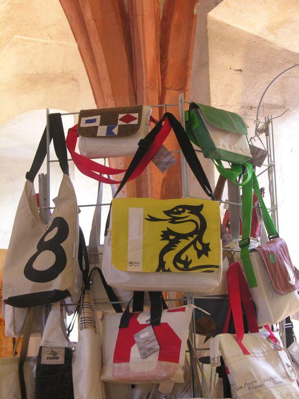 Kloster Eberbach Segeltuchjacken für Männer und Frauen aus gesegeltem Segel sailart fashion Kloster Eberbach Segeltuchjacken für Männer und Frauen aus gesegeltem Segel sailart fashion