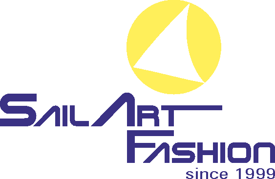 Sailart Fashion Logo maritime Mode aus altem Segel Segeltuchjacken Segeltuchwesten Segeltuchtaschen Segelmode