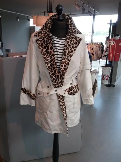 Designermantel aus Segeltuch - Sailart Fashion - Heppenheim
