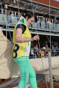 Damen Segeltuchjacke Segeltuchtasche Sailart Fashion UNIKAT Heppenheim