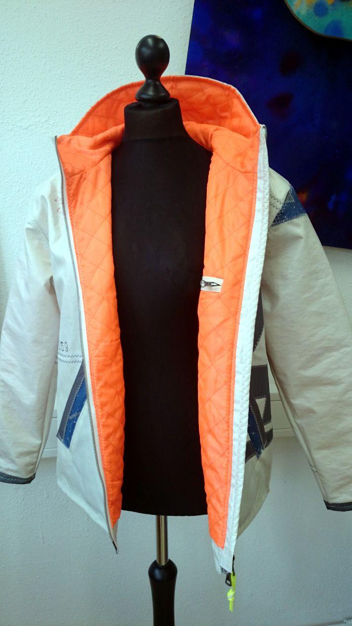 Jacke aus Segeltuch sailart fashion - Segeltuchmode aus Heppenheim