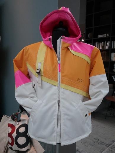 Designer-Jacke aus Segeltuch Herren - Sailart Fashion - Heppenheim