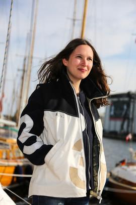 Segeltuchjacke Damen Segeltuchtaschen Sailart Fashion UNIKAT Heppenheim