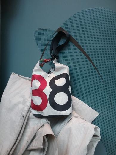 Designer-Tasche aus Segeltuch Damen Herren - Sailart Fashion - Heppenheim