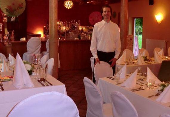 In meinem Restaurant in Oberbayern