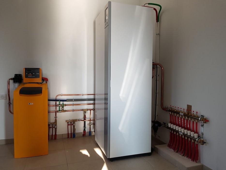 Installation pompe à chaleur air/eau  Adoucisseur - ETS FRADIN