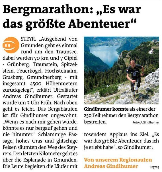 25.Bergmarathon Gmunden