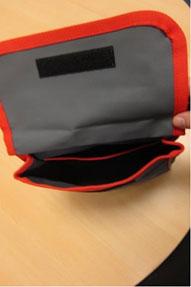 Seitentasche für Armlehne