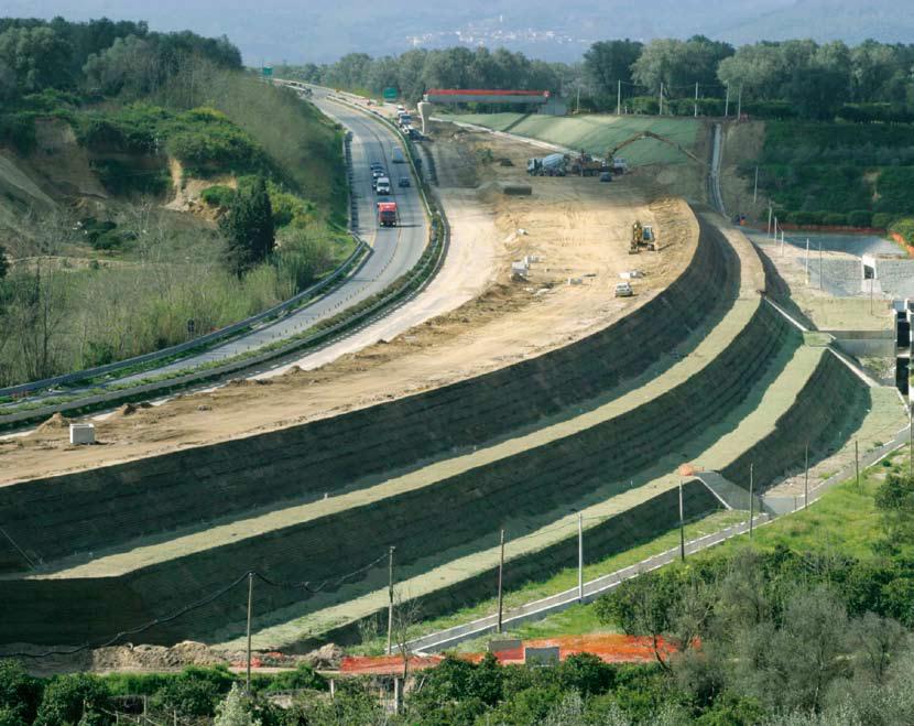 Großprojekt Verkehrswegebau in KBE-Bauweise  © 2016 Koninklijke Ten Cate nv und/oder ihre Tochtergesellschaften