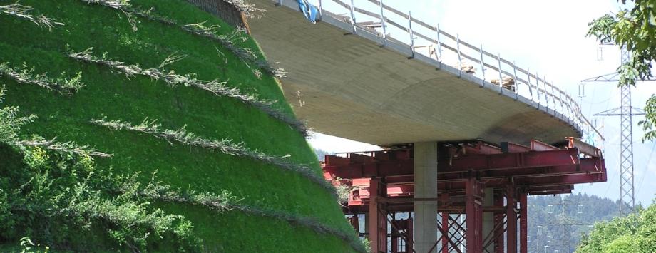 KBE als Brückenwiderlager