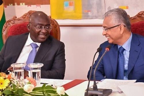 accord de cadre de coopération commerciale entre le Ghana et l'île Maurice,  accord de libre-échange entre l'île Maurice et le Ghana, renforcement économique entre le Ghana et l'île Maurice