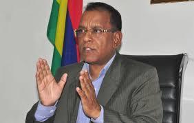 Sunil Bholah,  Ministre des Entreprises et des Coopératives de l'Île Maurice