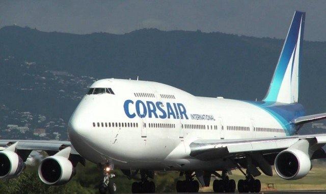 Corsair International emploie près de 1300 personnes et transporte 1,2 millions de passagers par an avec une flotte de sept avions