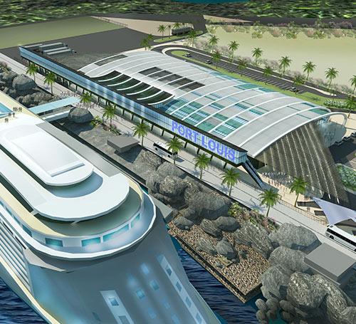 Le gouvernement vise davantage de croisiéristes, d'où les investissements dans un 'Cruise Terminal'.