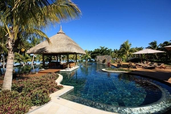 ILE MAURICE : Un des trés nombreux hôtels de luxe
