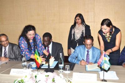 accord de développement économique entre l'île Maurice et Sénégal, accords bilatéraux l'île Maurice et le Sénégal, renforcement de lien économique entre l'île Maurice et le Sénégal