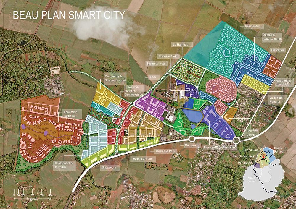Votre agence immobilière à l'ile Maurice vous propose la Smart City de Beau Plan