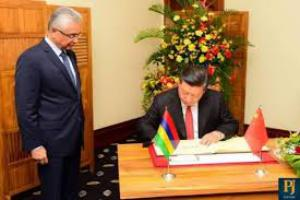 Nouvel Accord de libre échange entre Maurice et la Chine