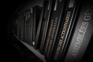 Services de secrétariat juridique des sociétés