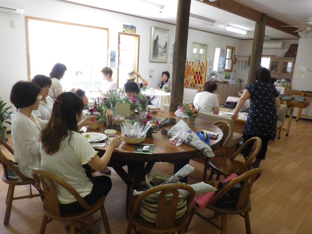 2012.7.22 10:30~ ハーブの花アレンジ
