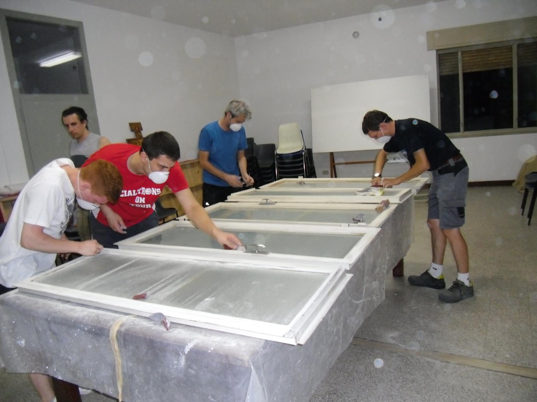 restauro nuova sede AC Creazzo 2012